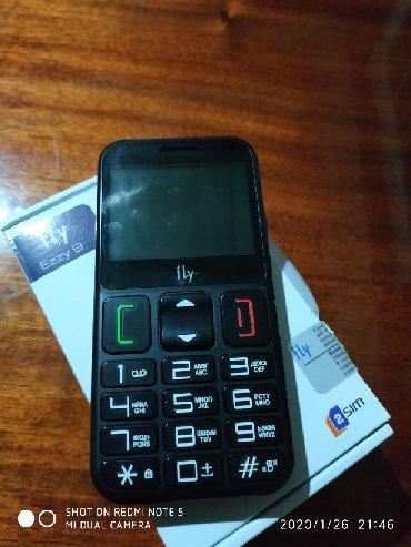 телефон-fly-e в Кыргызстан: Продаю тел бабушкафон бу 2.3 дня