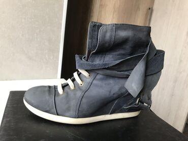Ботинки кожаные, привезены из Европы. Состояние отличное. Размер 39