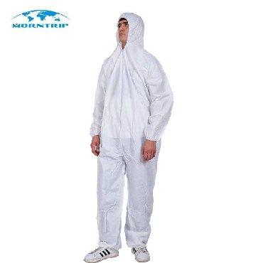 Мед. товары - Кыргызстан: Защитные костюмы(бесплатно бахилы и маски)материал комбинезона состоит
