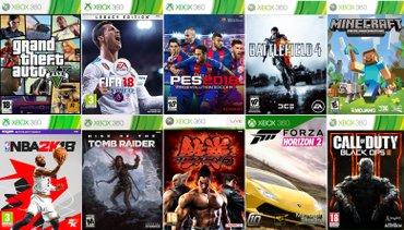 Xbox 360 igrice lt3. 0pes2018,fifa 18,nba2k18,gta v,forza horizon 2 , - Krusevac