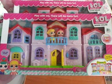 Комплект домик куклы лол в Лебединовка