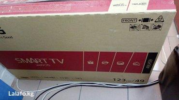 телевизор 49 дюймов в Кыргызстан: Телевизор lg 49 дюйм 125 см smart, wifi, fullhd, usb, hdmi, dvb-t2