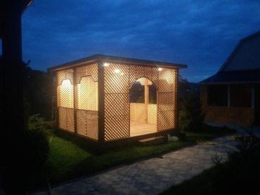 Делаем бани , сауны, беседки, продаем в Бишкек