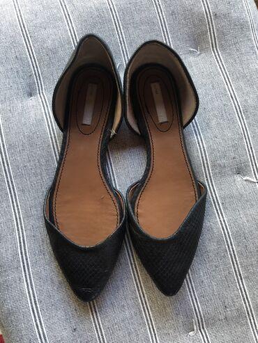 Jeans skinny h - Srbija: Nove H&M kožne baletanke, broj 39