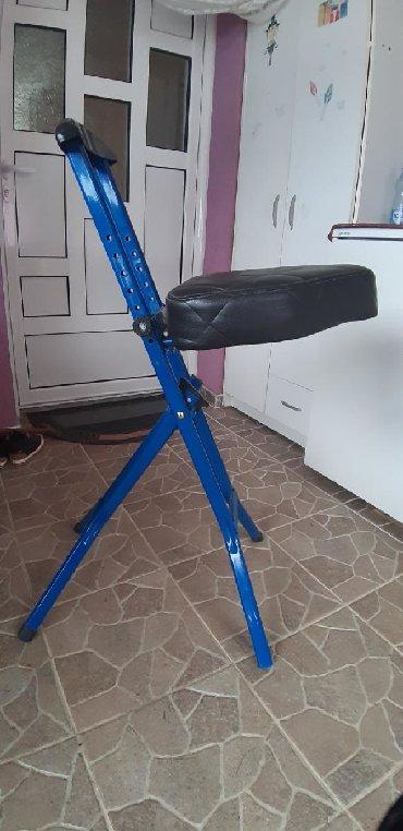 Kuća i bašta - Zagubica: Stolica na rasklapanje pogodna za muzicare,ima vise polozaja steluje
