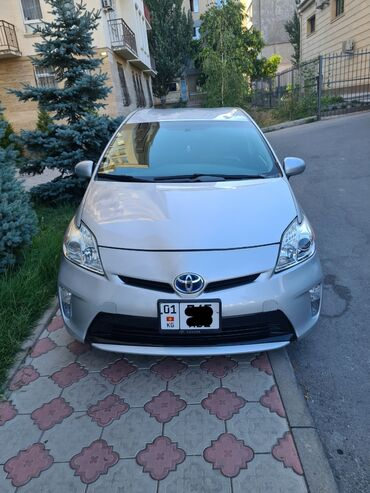 Транспорт - Аламедин (ГЭС-2): Toyota Prius 1.8 л. 2013 | 126 км