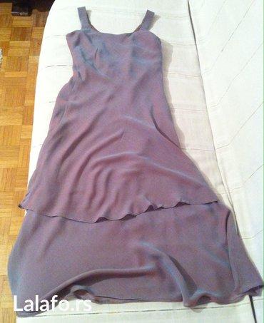 Zenska haljina na bretele, velicina 38. Samo jednom nosena na maturi. - Belgrade