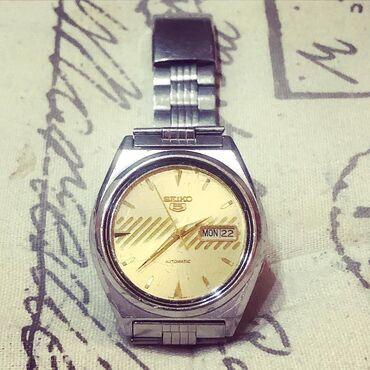 Gümüşü Kişi Qol saatları Seiko