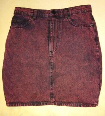 Teksas bordo suknja,Italy dizajn,fanzastican kvalitet dzinsa.Bruseni