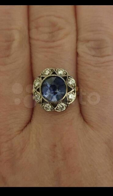 Золотое кольцо с аметистом и бриллиантами. Золото 750 бриллианты кр