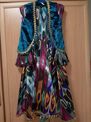 Танцевальное узбекское платье.  44 размер