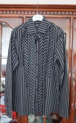 Predivna mexx košulja, kombinacija crno-bela, vel. Xxl, obučena samo