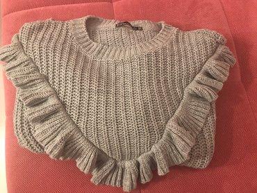 NOV BERSHKA ženski džemper širi