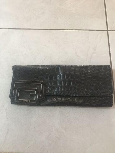 Guess clutch τσαντάκι μαύρο