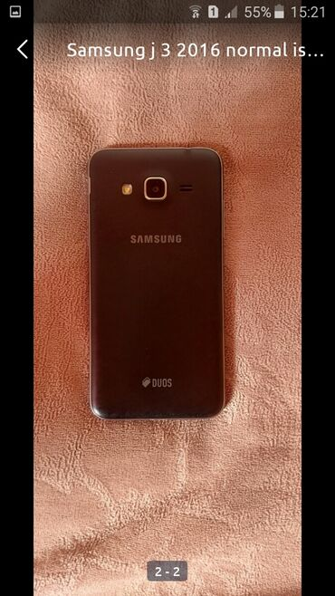 Samsung j3 2018 qiymeti - Azərbaycan: İşlənmiş Samsung Galaxy J3 2017 8 GB qara