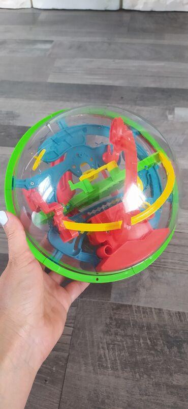 Детский мир - Таш-Мойнок: Шар головоломка качественный отлично развивает ребенка и тренирует