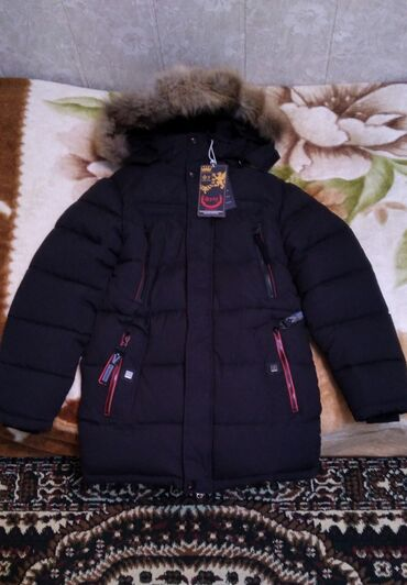 Зимняя куртка  Размер 48 Мальчиковая Бренд:Фулу