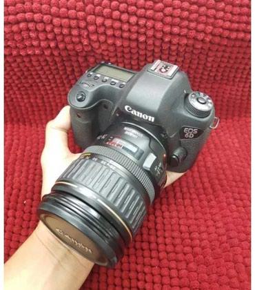Продаю фотоаппарат санон 6D с объективом canon 28-135. в Бишкек