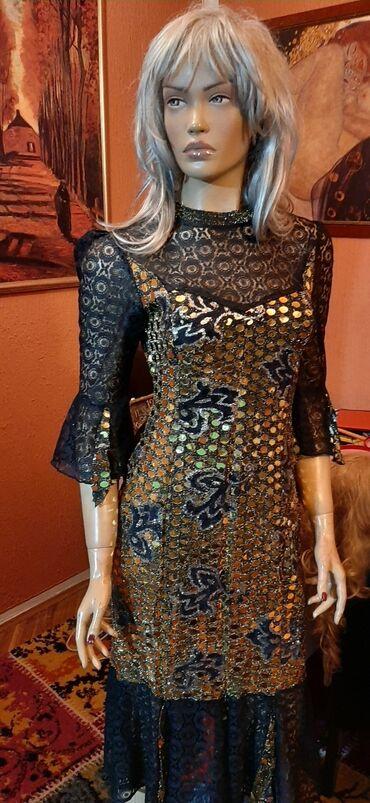 Haljina cipele - Srbija: Krljust haljina sa cipkom,vrhunska,svecana vel 36.38