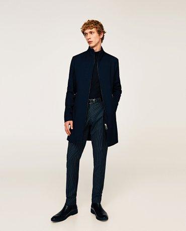 продаю новое мужское пальто zara man из коллекции 2017 года. размер-l( в Бишкек
