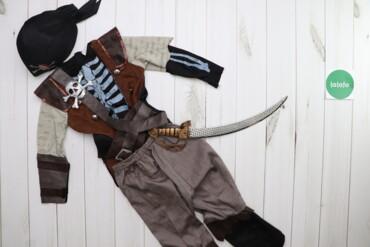 Дитячий карнавальний костюм пірата Teetot & Co (жилет, штани, пов'