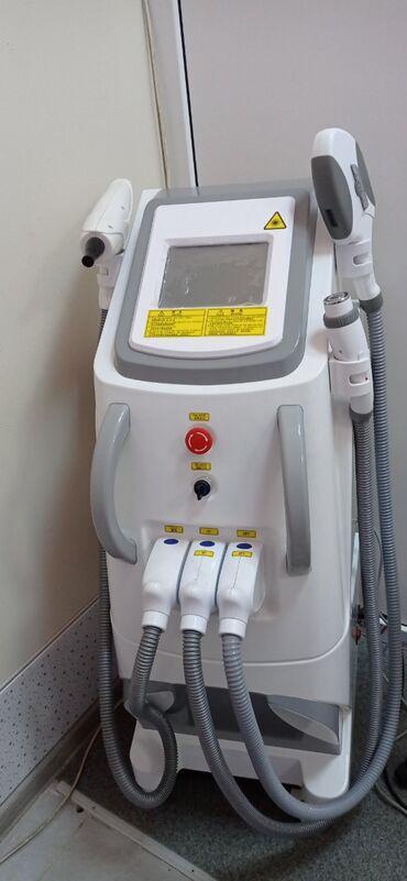 tatu aparati satilir in Azərbaycan   TIBBI AVADANLIQ: 3-ü 1-də (İPL+RF+Q-switch ND Yag) lazer aparatı satılır. Həm buz