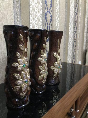 Декоротивные вазы для украшения в Бишкек