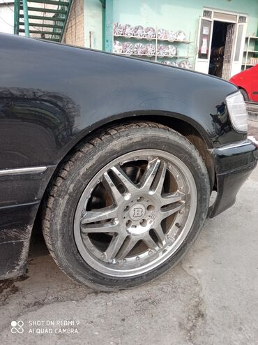 диски r19 в Кыргызстан: Срочно продается, Диск Брабус ( Brabus ) R19 разноширокий с шинами