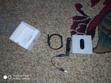 Зарядные устройства для телефонов lenovo - Кыргызстан: Смарт часы mi beand 3 Жилезный ремешок покупали отдельно Все работает