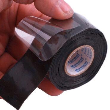 Nova silikonska vodootporna traka širine 2,5 cm, debljina 0,5 mm, trpi