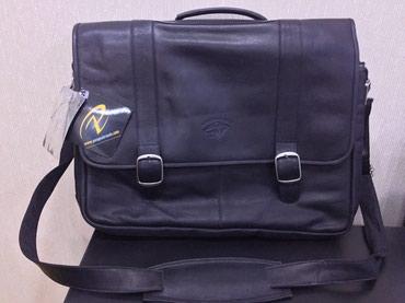 Qusar şəhərində Dəri laptop çantası. Kolumbiya istehsalı. Təmiz dəridir.