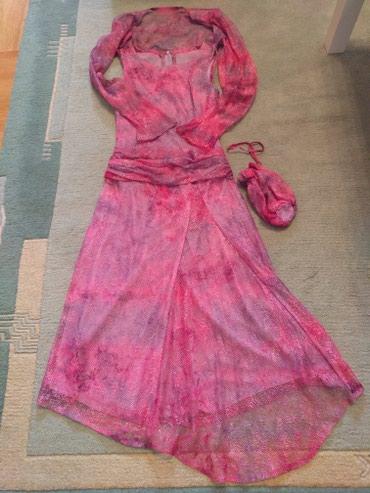 Fara svilena francuska čipka haljine, uz to bolero ( rukavi se šire) - Palic
