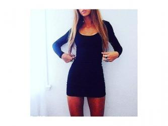 -prelepa haljina sa dugim rukavima koja se izradjuje od pamuka sa - Novi Sad