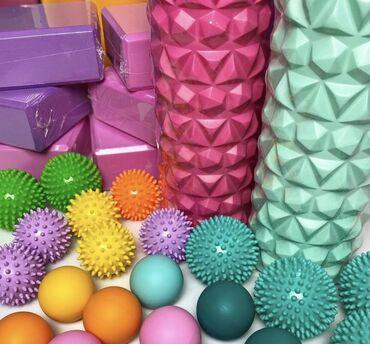 Спорт и отдых - Кыргызстан: В наличии массажные мячи и роллы, сдвоенные мячи МФР роллеры   Для чег