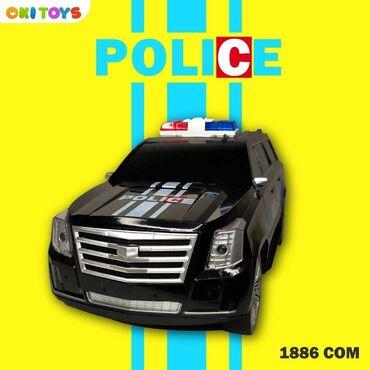 Машинка полицейский Cadillac Escalade Police Действует скидка -20%!