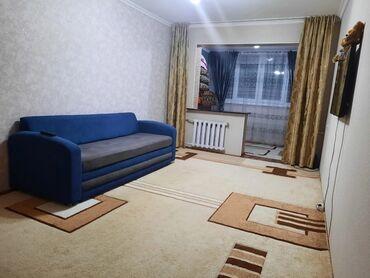 Продажа квартир - Бишкек: 104 серия, 1 комната, 39 кв. м Бронированные двери, С мебелью, Парковка