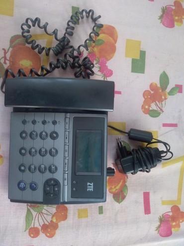 Купить сотовый телефон бу - Кыргызстан: Телефон ZTE . Подходит для офиса. Есть зарядка. Б/У. Сос ояние