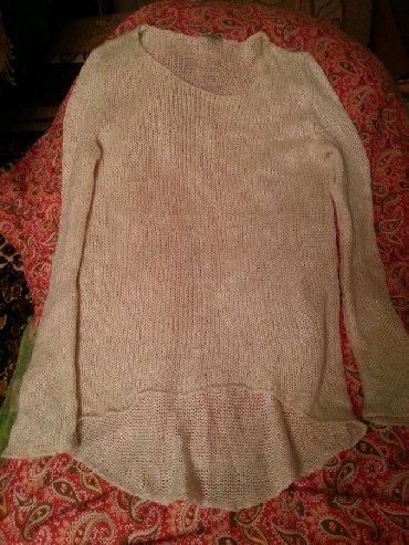 женские-белые-свитера в Азербайджан: Kofta olcu yoxdu boyuk razmer geye bilir standard olcu