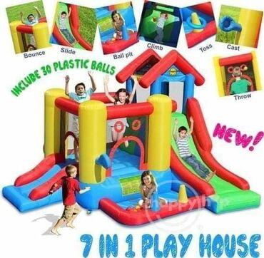 Ostale dečije stvari | Srbija: 🥳Dvorac Play House, savršeni dvorac za pravu dečiju zabavu.Vrhunski