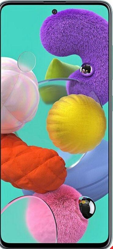samsung plansetlerin qiymeti в Азербайджан: Samsung A51 128 yaddaw 6ram  Qiymeti 600manat negd