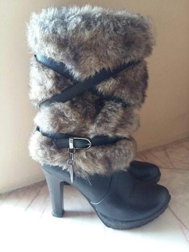 Μπότες με γούνα μαύρες πολυ ζεστες σε Drama