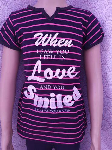 Летние три туникиплатьетри футболки на девочку тричытери лет
