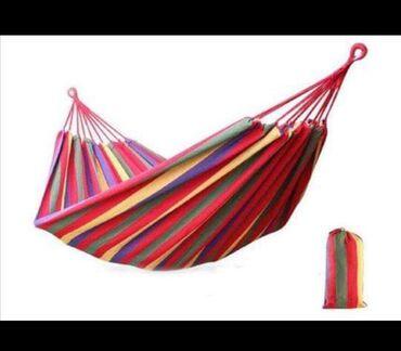 Barska-stolica - Srbija: Ležaljka za odmor izrađena od pamuka.Dimenzije mreže 200x100 cm
