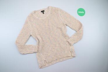 Жіночий светр з різнокольоровими нитками Jessica Simpson, р. М    Довж