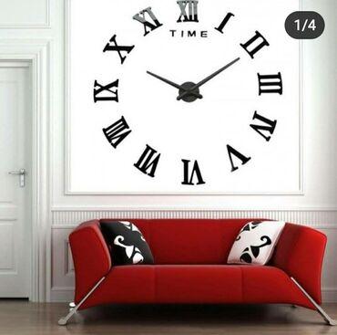 Уй ичи дизайни - Кыргызстан: Декоративные 3D настенные часы для гостиной, дома, офиса, большой