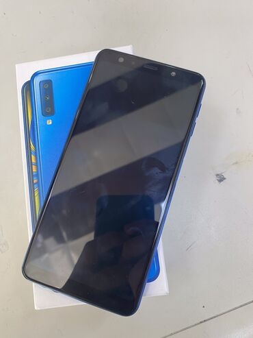 İşlənmiş Samsung Galaxy A7 2018 64 GB göy