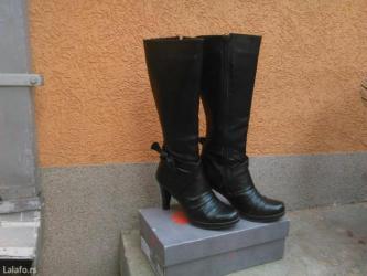 Broj maju - Srbija: Čizme br. 37,malo nošene