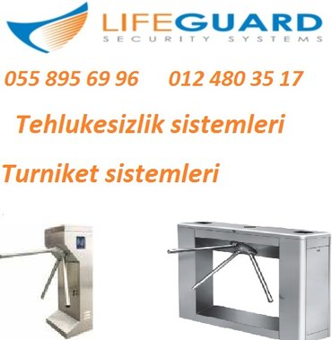 Bakı şəhərində Turniketlerin (VIP, fast, tripod, market ve s.) satisi ve montaji.