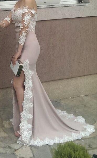 Unikatna svecana haljina,nosena samo jednom