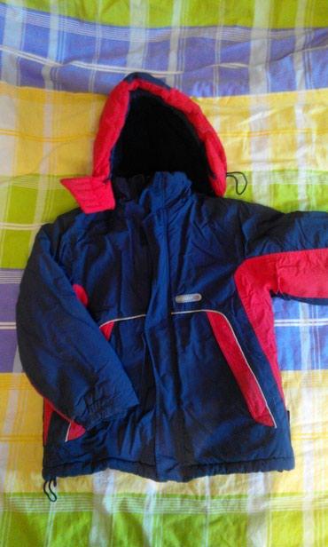 Зимняя тёплая куртка, на 7-8-9 лет смотря в Бишкек